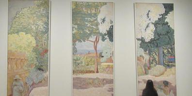 Von Cézanne und Monet bis zu Gauguin und Matisse: Die Fondation Louis Vuitton hat die legendäre Sammlung der russischen Brüder Morosow nach Paris geholt. Foto: Sabine Glaubitz/dpa - ACHTUNG: Nur zur redaktionellen Verwendung im Zusammenhang mit de...