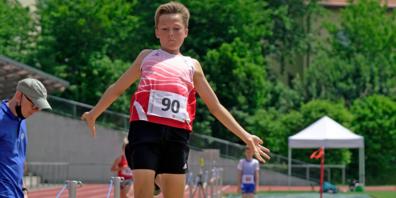 Erstmals sprang Janis Beuggert beim UBS Kids Cup-Final über 5 m.