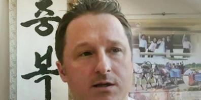 ARCHIV - Korea-Experte Michael Spavor während eines Skype-Interviews im März 2017. Fast drei Jahre nach ihrer Festnahme in China sind die kanadischen Geschäftsleute Michael Spavor und Michael Kovrig auf freien Fuß gesetzt und in ihre Heimat ausgef...