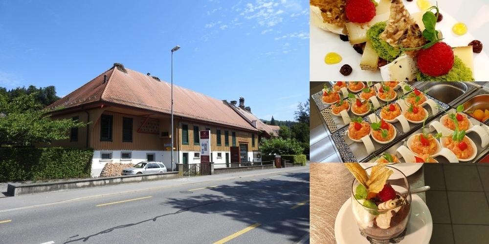 Der Kunsthof Uznach bietet eine stilvolle Atmosphäre und empfehlenswerte Kulinarik.