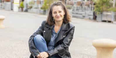 Katja Baumann gehört zu den Gründerinnen des nordArt-Theaterfestivals. Sie kehrt immer wieder gerne nach Stein am Rhein zurück.