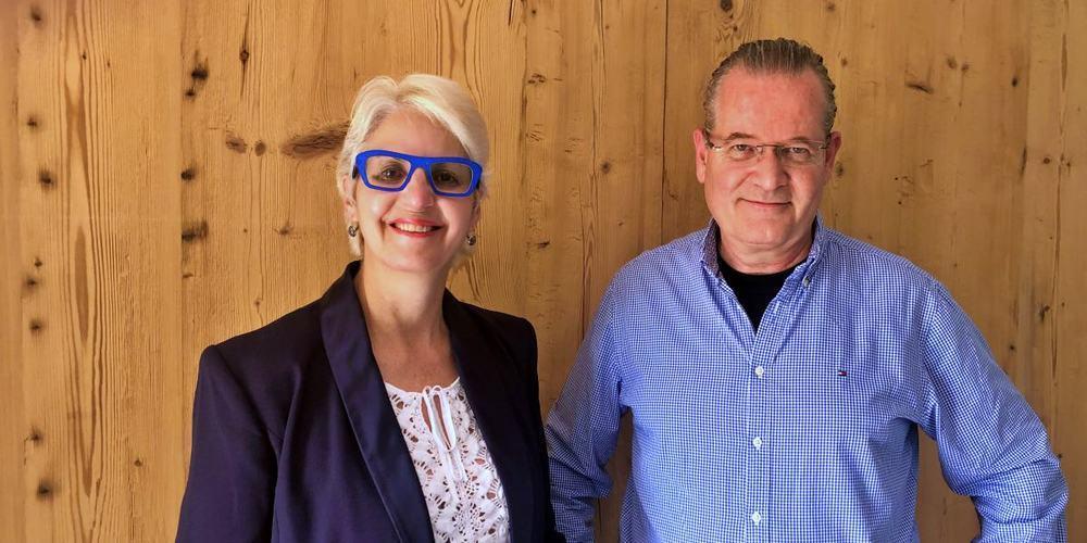 Per 1. Juli 2021 übergibt Angelika Schmid das Zepter der viewände immobilien gmbh an Claudio Bonomo.
