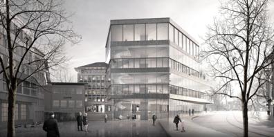 Das Projekt «Doppeldecker» der Staab Architekten aus Berlin ging als Sieger hervor.