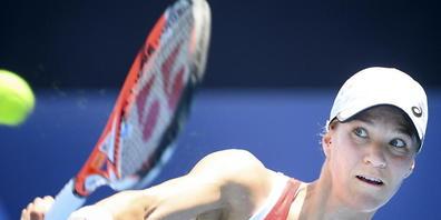 Viktorija Golubic benötigt gegen die Kolumbianerin Maria Camila Osorio Serrano weniger als eine Stunde zum Erstrundensieg