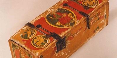 In schmucken Kästchen wie diesem bewahrten Klosterfrauen besonders wertvolle Schriftstücke auf.