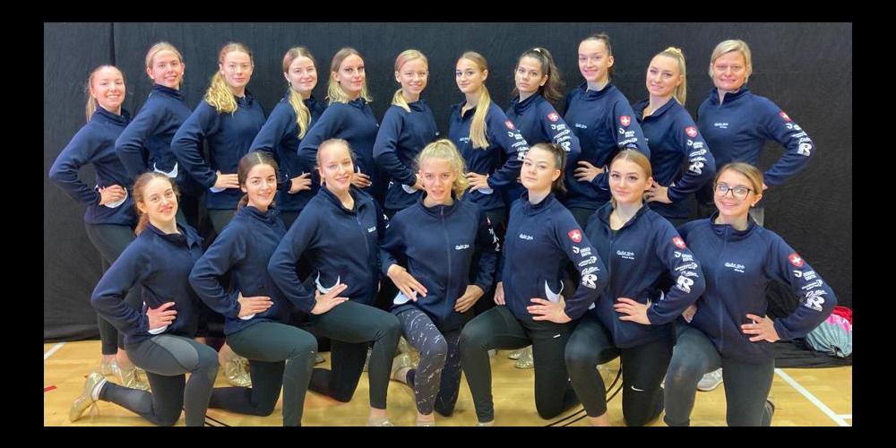 Die Rocket Girls haben eine gute Leistung gezeigt in Graz.