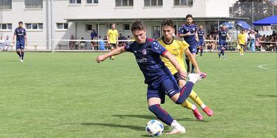 Jetmir Lakna zählte zu den Aktivposten seines Teams.
