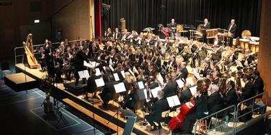 Bei Vereinen mit mehr als 30 Mitgliedern braucht es seit dieser Woche auch ein Covid-Zertifikat; im Bild das Blasorchester Siebnen.
