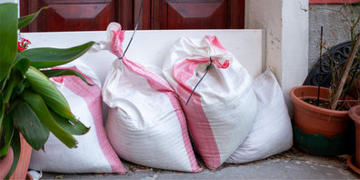 Sandsäcke für die Gossauerinnen und Gossauer (Symbolbild)