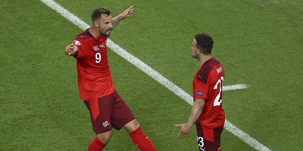 Haris Seferovic und Xherdan Shaqiri waren die beiden grossen Figuren im Schweizer Spiel
