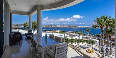 Können Sie bei Jan Näf auf Malta kaufen: Villa Mellieha für 6 Mio. Euro.
