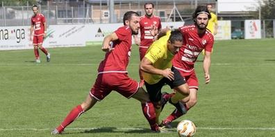 Nur ein Gerücht: beim FC Montlingen würde bereits wieder Zweikampfverhalten  trainiert