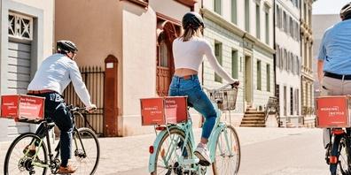 Working Bicycle stellt die erste Buchungsplattform für mobile Aussenwerbung bereit.