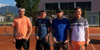 Fabian und Manuel Bigger, Dominic Kunz und Baltus Ritz