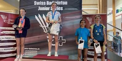 Anic Metzger vom BC Trogen-Speicher gewinnt Gold.