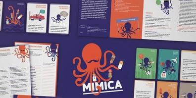 Mimica ist ein Spiel zum Schauspielern, Diskutieren, Raten und Rollentauschen.