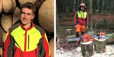 Die gute Ausbildung im Forstbetrieb der Ortsgemeinde Wil führte Michel Fürer zum zweitbesten Lehrabschluss.