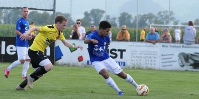 FC Altstätten und FC Widnau trennten sich mit einem 1:1 Unentschieden