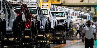 Der Halbleitermangel macht Autobauern wie Toyota zu schaffen. Die Japaner haben das Produktionsziel für das bis Ende März laufende Geschäftsjahr gekappt.(Archivbild)