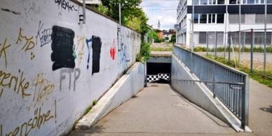 Die Fuss- und Radwegunterführung Eichwiesstrasse – Oberseestrasse soll durch einen Neubau ersetzt werden.