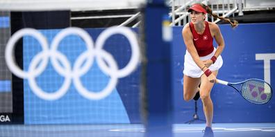 Im Halbfinal trifft Belinda Bencic, die Nummer 12 der Welt, entweder auf die Spanierin Garbiñe Muguruza (WTA 9) oder die Kasachin Jelena Rybakina (WTA 20).
