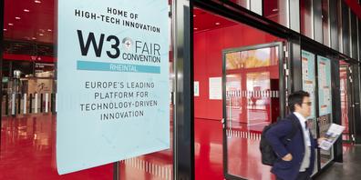 Am Mittwoch und am Donnerstag gastierte die Technologie- und Netzwerkmesse «W3+» im Dornbirner Messegelände