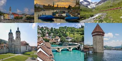 Beim «Sympathie-Rating» wird der Kanton Schwyz im Vergleich zu anderen Kantonen als knapp unterdurchschnittlich bewertet.