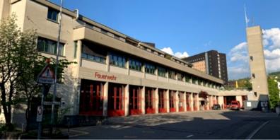 Das Feuerwehrgebäude an der Notkerstrasse 44 wurde 1969 in Betrieb genommen.