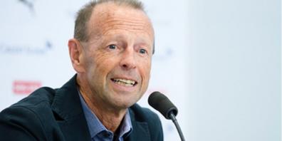 Der ehemalige NLA-Fussballer, Trainer und Funktionär Roger Hegi