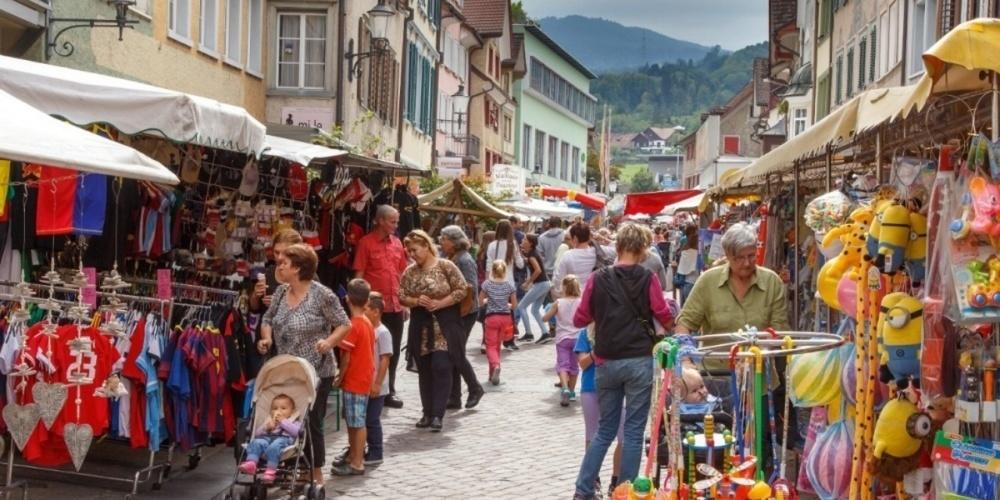 Jahrmarkt Nesslau am 20. Mai 2021 findet statt. (Symbolbild)
