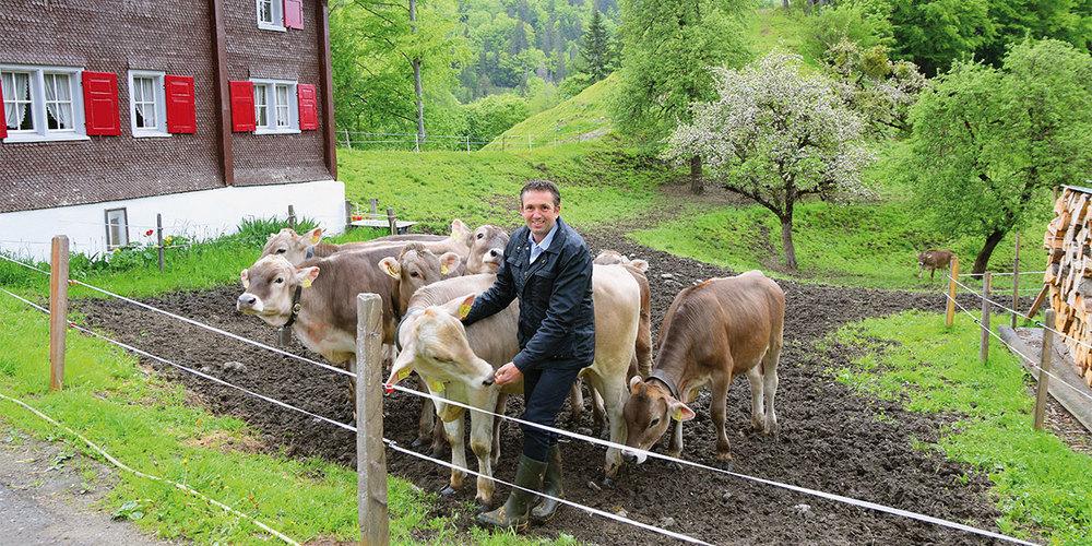 Bauernverbandspräsident Thomas Roffler kämpft für die Landwirtschaft und gegen die beiden  Agrarinitiativen.
