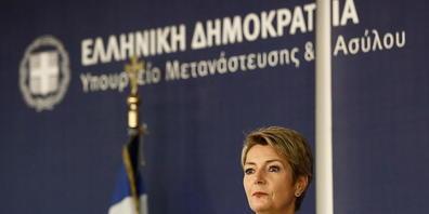 Justizministerin Karin Keller-Sutter sprach auf ihrer Balkan- und Griechenland-Reise mit mehreren ausländischen Ministern über Migrations- und Flüchtlingsfragen.
