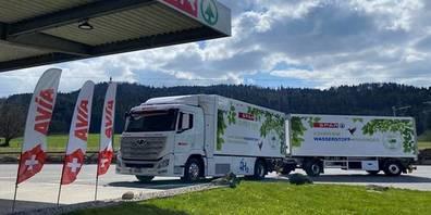 Der Spar-LKW mit Wasserstoff-Elektroantrieb