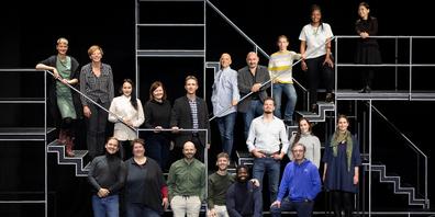Das Musiktheaterensemble des Theaters St.Gallen