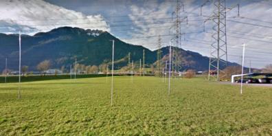 Das Grundstück im Schänner Industriegebiet Feld sollte eigentlich längst bebaut sein.