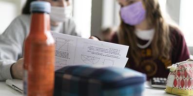 Die Maskenpflicht an Schulen im Kanton Zürich wird ab nächster Woche aufgehoben. (Symbolbild)