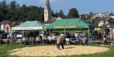Uzwiler Buebeschwinget am 18. September 2021 in Henau.