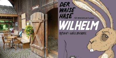 «Der Waise Hase Wilhelm» für Kinder ab 4 Jahren feiert am Sonntag, 31. Oktober 2021, in Feldbach Premiere.