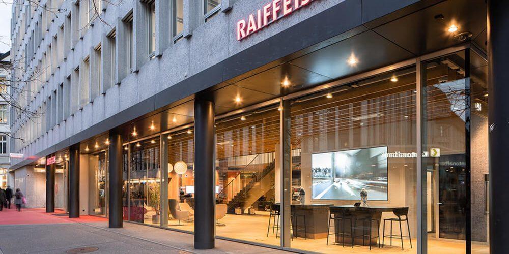 Raiffeisen am Roten Platz in St.Gallen