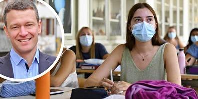 Stadtrat Luca Eberle: «Es gibt Lehrpersonen, welche sehr froh sind, wenn die Jugendlichen weiterhin eine Maske tragen.»