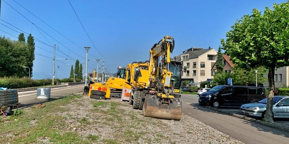 Der Lärm, der durch die Bauarbeiten am Bahnhof Schmerikon entsteht, erhitzt die Gemüter.
