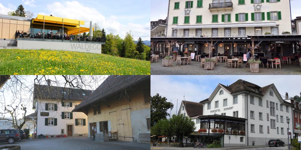 Auch im Linthgebiet öffnen alle Restaurants, die irgendwie können, ihre Terrassen...