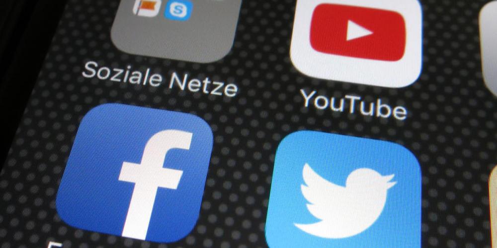 Kanton und Stadt St. Gallen informierten über die sozialen Netzwerke Twitter und Facebook (Symbolbild)