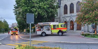 Zum Glück ein Fehlalarm: Einsatz der Feuerwehr bei der Ref. Kirche Wetzikon