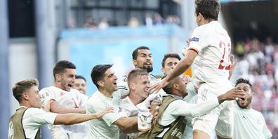 Im Aufschwung: Spanien fordert am Freitag im Viertelfinal die Schweiz heraus.