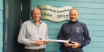 Paul Baumann (links) und Erwin Eisenring.