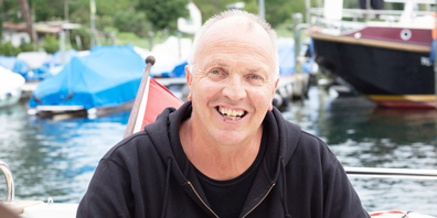 Jerry Svensson ist in Schweden aufgewachsen. Noch heute besucht er über die Wintermonate seine Verwandten im Norden.