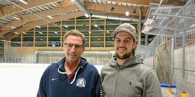 Cheftrainer Don McLaren (links) und Captain Yves Breitenmoser.