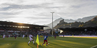 Die Sittener verhindern im Tourbillon, dass sich der FCB offensiv entfalten kann