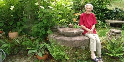 Während vielen Jahren betreute Verena Lehmann, Tochter des Künstlers,  Ausstellung und Garten mit viel Herzblut.